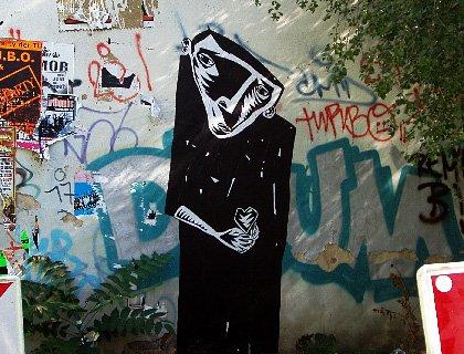 Franz Kafka - Streetart3
