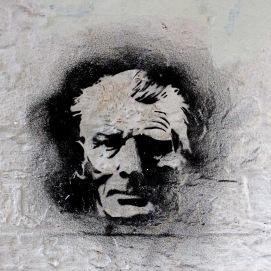 Samuel Beckett – Streetart - 2