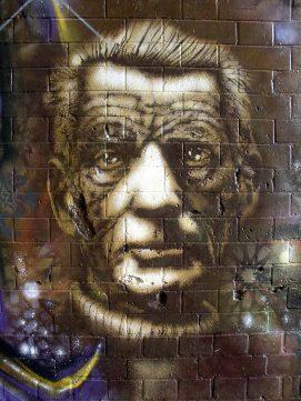 Samuel Beckett – Streetart - 4