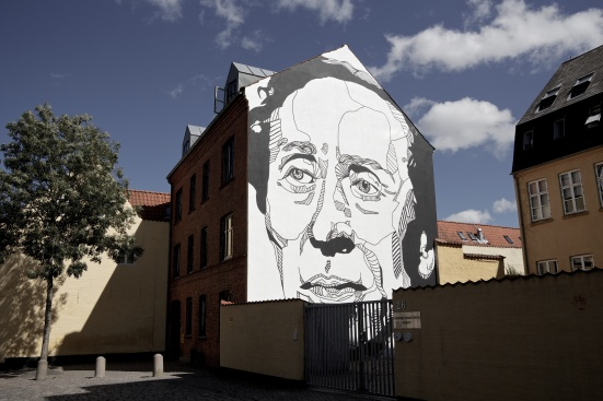 Streetart - Hans Christian Andersen