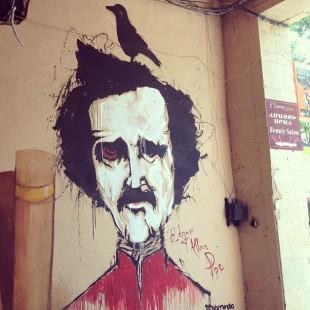 Streetart - Edgar Allan Poe 1