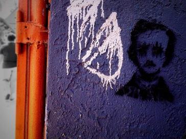 Streetart - Edgar Allan Poe 5