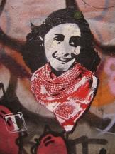Streetart - Anne Frank_1
