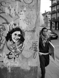 Streetart - Anne Frank_4