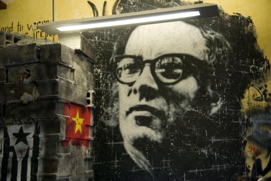 Streetart – Isaac Asimov