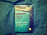Milan Kundera – Die Kunst desRomans