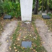 Das Grab von Pasternak.