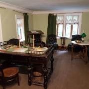 Das Arbeitszimmer von Tolstoi: Er hatte feste Schreibrituale.