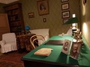Hier empfang Tschechow seine Gäste und Patienten.